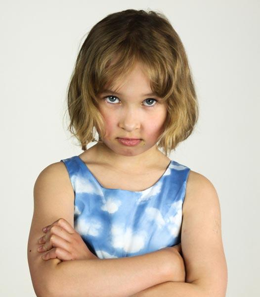 ADHD - Bambina imbronciata